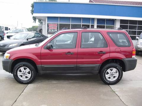 2005 Ford Escape for sale at Wilson Motors in Junction City KS