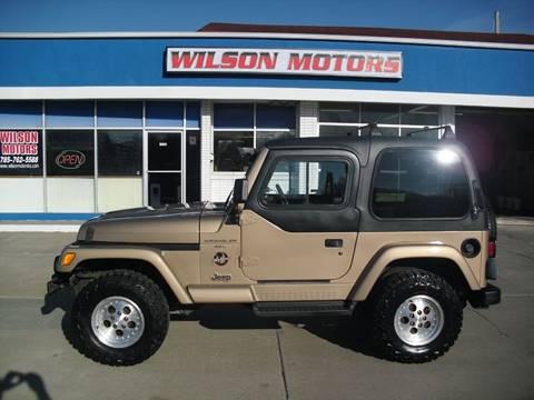 1999 Jeep Wrangler for sale in Junction City, KS