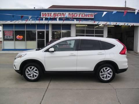 2016 Honda CR-V for sale at Wilson Motors in Junction City KS