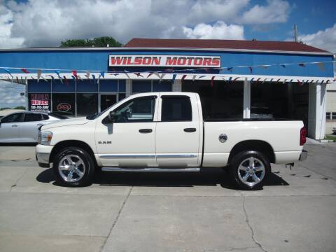2008 Dodge Ram Pickup 1500 for sale at Wilson Motors in Junction City KS