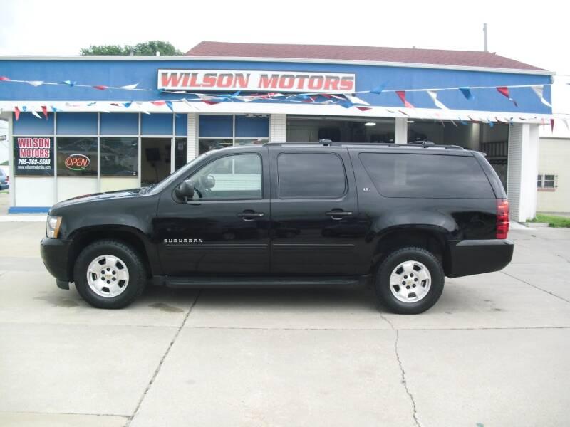 2012 Chevrolet Suburban for sale at Wilson Motors in Junction City KS