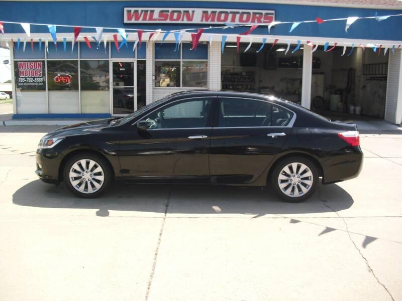 2013 Honda Accord for sale at Wilson Motors in Junction City KS