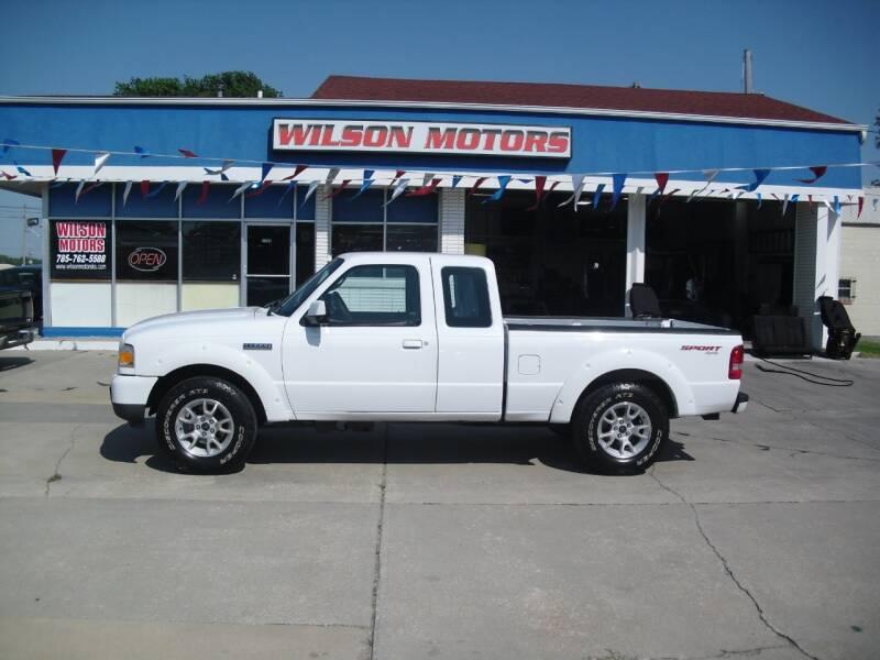 2011 Ford Ranger for sale at Wilson Motors in Junction City KS