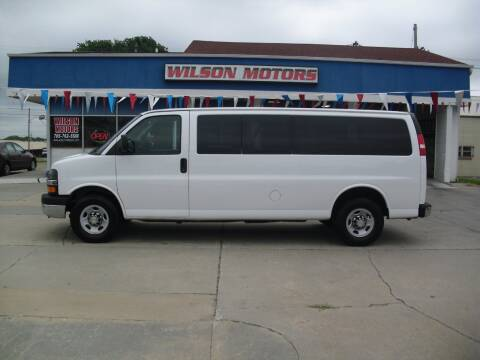 2014 Chevrolet Express Passenger for sale at Wilson Motors in Junction City KS