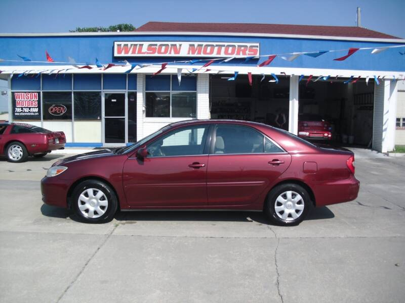 2004 Toyota Camry for sale at Wilson Motors in Junction City KS