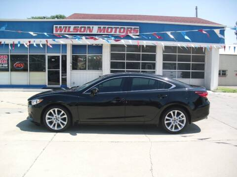 2016 Mazda MAZDA6 for sale at Wilson Motors in Junction City KS