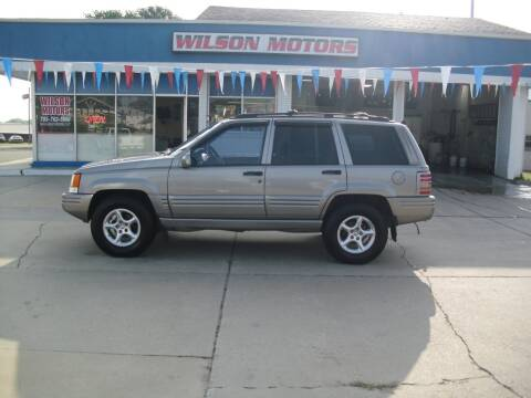 1998 Jeep Grand Cherokee for sale at Wilson Motors in Junction City KS
