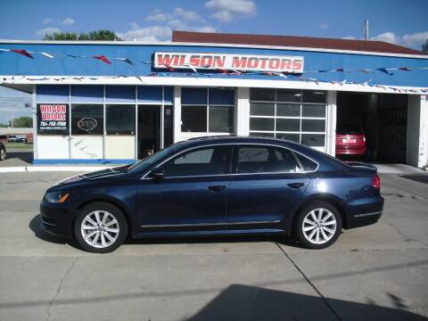 2013 Volkswagen Passat for sale at Wilson Motors in Junction City KS