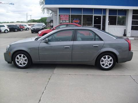 2005 Cadillac CTS for sale at Wilson Motors in Junction City KS