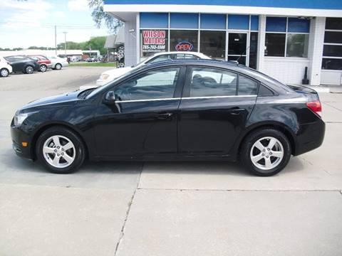 2012 Chevrolet Cruze for sale at Wilson Motors in Junction City KS
