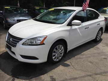 2013 Nissan Sentra for sale in Tolland, CT