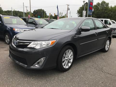 2012 Toyota Camry Hybrid for sale in Tolland, CT