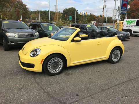 2013 Volkswagen Beetle for sale in Tolland, CT