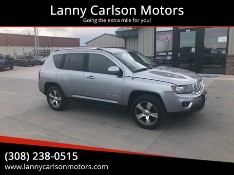 2016 Jeep Compass for sale at Lanny Carlson Motors in Kearney NE