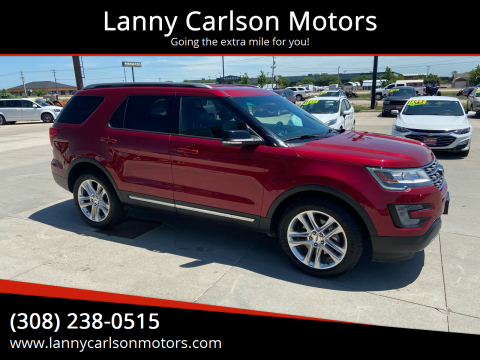 2017 Ford Explorer for sale at Lanny Carlson Motors in Kearney NE