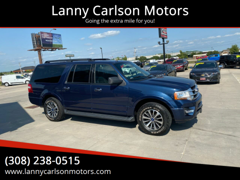 2015 Ford Expedition EL for sale at Lanny Carlson Motors in Kearney NE