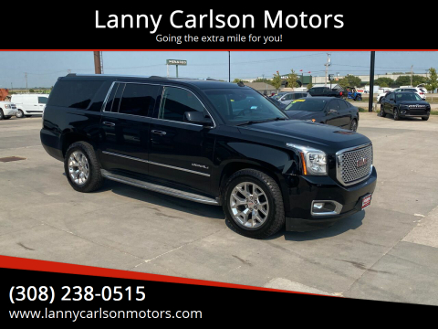 2015 GMC Yukon XL for sale at Lanny Carlson Motors in Kearney NE