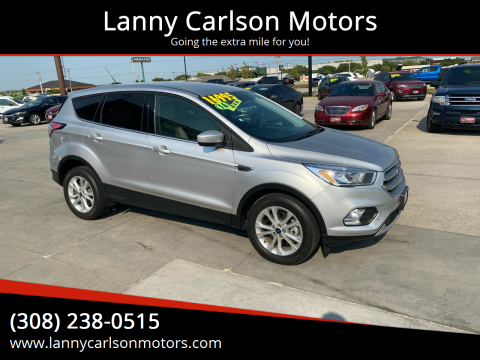 2017 Ford Escape for sale at Lanny Carlson Motors in Kearney NE