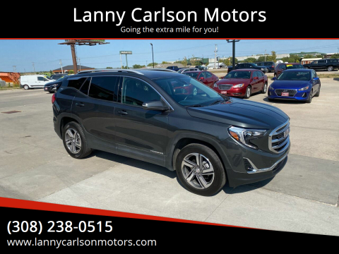 2020 GMC Terrain for sale at Lanny Carlson Motors in Kearney NE