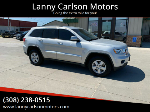 2011 Jeep Grand Cherokee for sale at Lanny Carlson Motors in Kearney NE