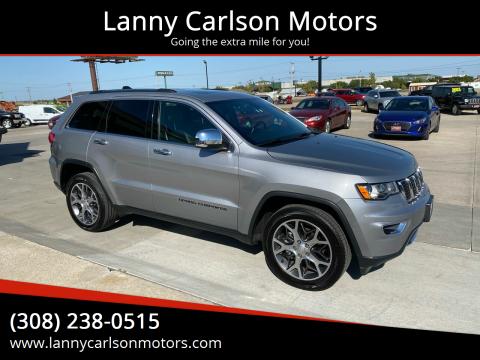 2019 Jeep Grand Cherokee for sale at Lanny Carlson Motors in Kearney NE
