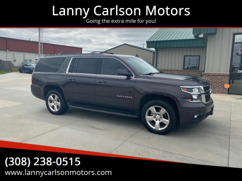 2015 Chevrolet Suburban for sale at Lanny Carlson Motors in Kearney NE