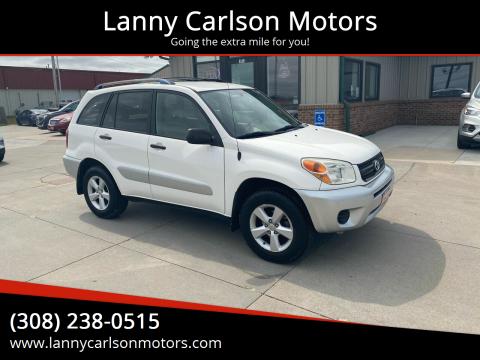 2005 Toyota RAV4 for sale at Lanny Carlson Motors in Kearney NE