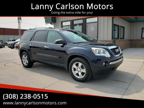 2012 GMC Acadia for sale at Lanny Carlson Motors in Kearney NE