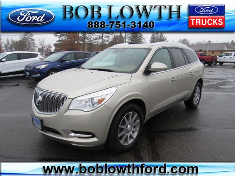 Bob Lowth Ford >> 2015 Buick Enclave Awd Leather 4dr Crossover In Bemidji Mn