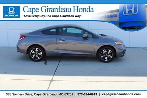Cape Girardeau Honda >> 2015 Honda Civic For Sale In Cape Girardeau Mo