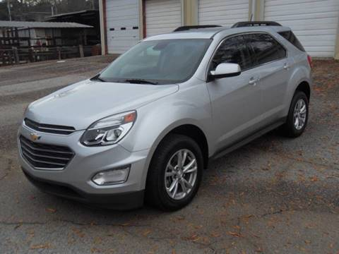 2016 Chevrolet Equinox for sale in Abbeville, SC