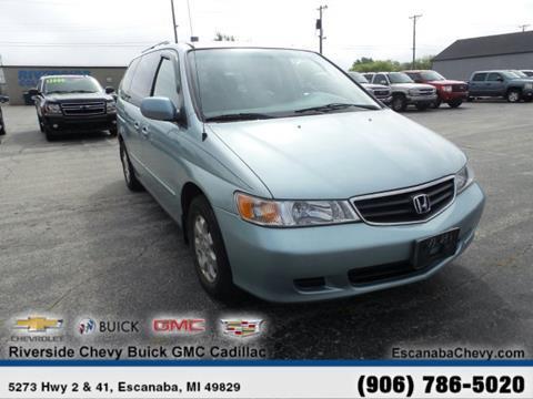 2003 Honda Odyssey for sale in Escanaba, MI