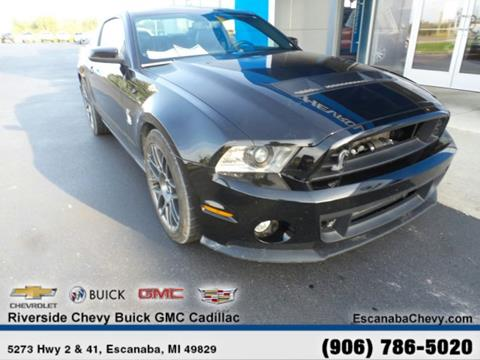 2012 Ford Shelby GT500 for sale in Escanaba, MI