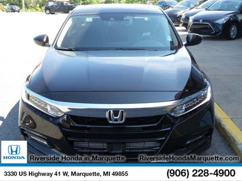 2018 Honda Accord for sale in Marquette, MI