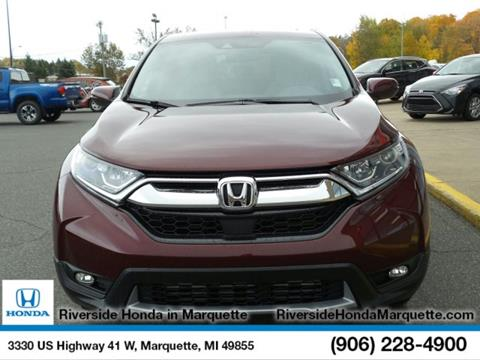 2018 Honda CR-V for sale in Marquette, MI