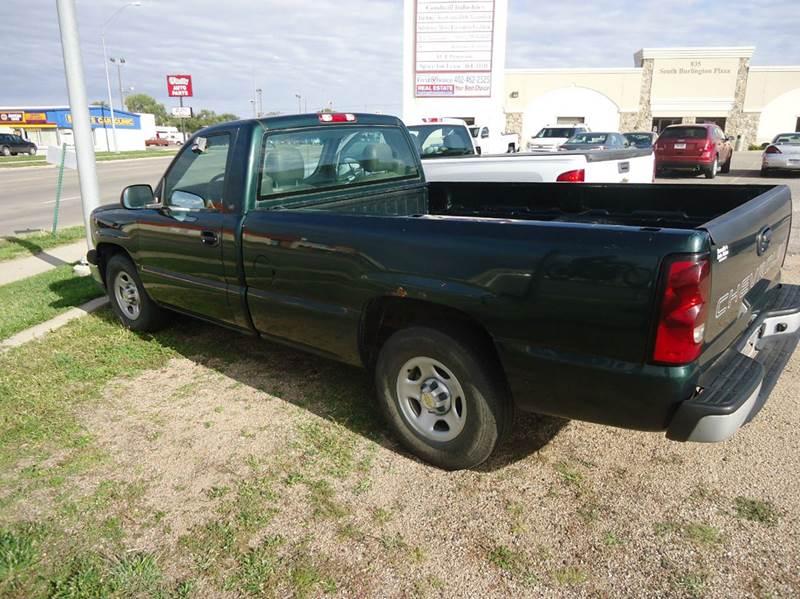 2004 Chevrolet Silverado 1500 for sale at Bramble's Auto Sales in Hastings NE