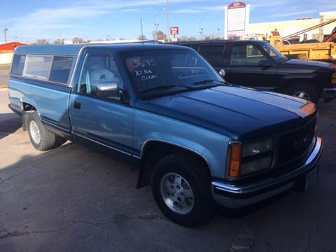 1992 Chevrolet C/K 1500 Series for sale at Bramble's Auto Sales in Hastings NE
