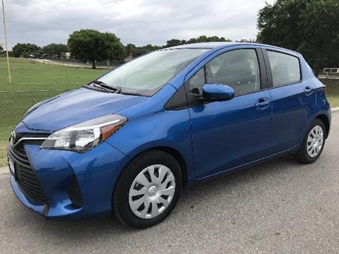 2015 Toyota Yaris for sale in Universal City, TX