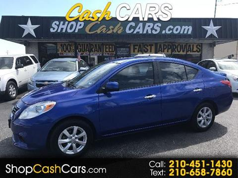 2013 Nissan Versa for sale in Universal City, TX