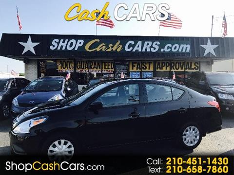 2016 Nissan Versa for sale in Universal City, TX