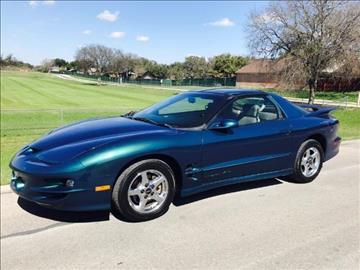 2000 Pontiac Firebird for sale in Universal City, TX