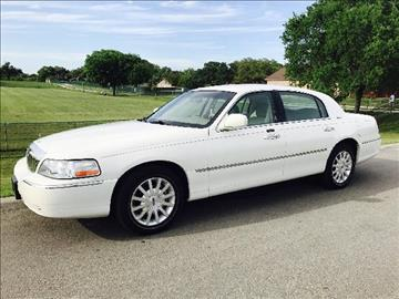2007 Lincoln Town Car for sale in Universal City, TX