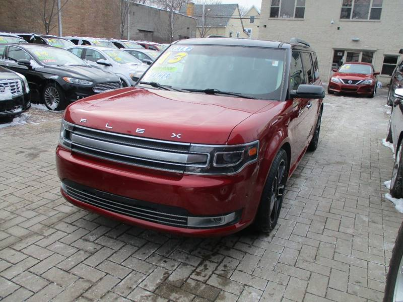Ford Flex Awd Limited Dr Crossover W Ecoboost Chicago Il