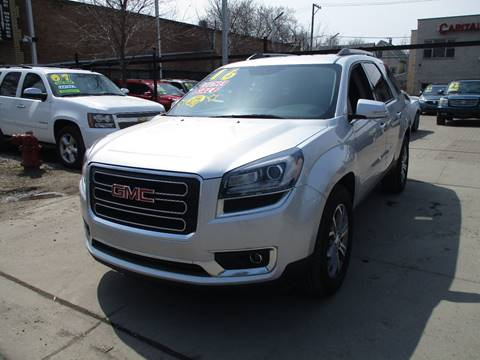 company owned sport acadia fremont motor pre inventory gmc used utility awd denali
