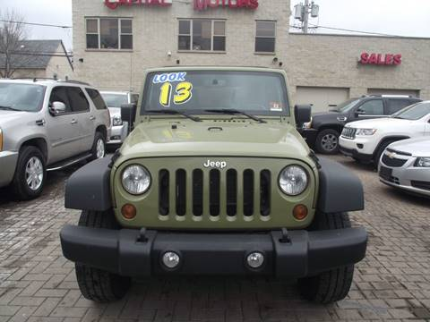 2013 Jeep Wrangler Unlimited for sale in Chicago, IL
