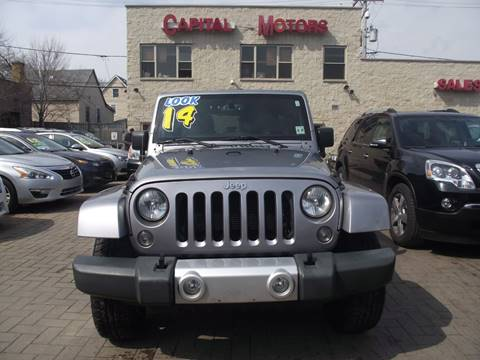 2014 Jeep Wrangler Unlimited for sale in Chicago, IL