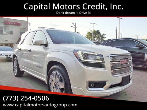 2013 GMC Acadia for sale at Capital Motors Credit, Inc. in Chicago IL