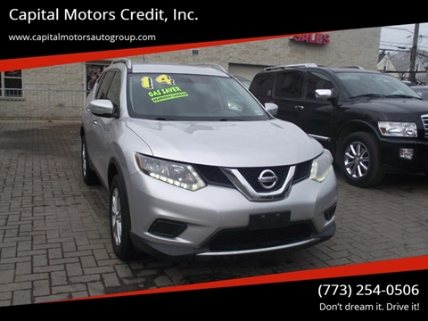 2014 Nissan Rogue for sale at Capital Motors Credit, Inc. in Chicago IL