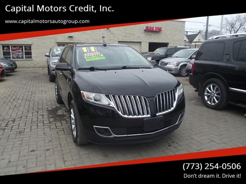 2011 Lincoln MKX for sale at Capital Motors Credit, Inc. in Chicago IL