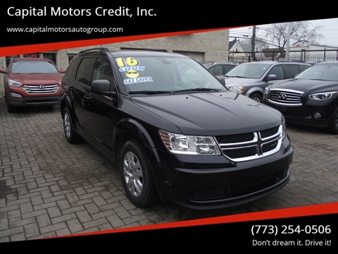 2016 Dodge Journey for sale at Capital Motors Credit, Inc. in Chicago IL